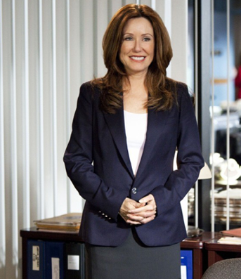 Mary McDonnell the closer
